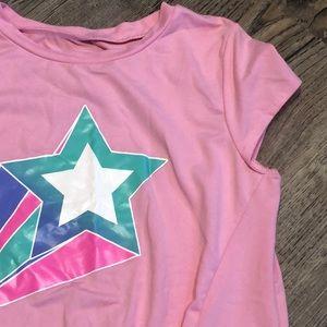 MTA Sports Shooting Star Short Sleeve Tee - Sz M